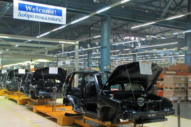 Производство Chevrolet Niva снизилось на 22,5%
