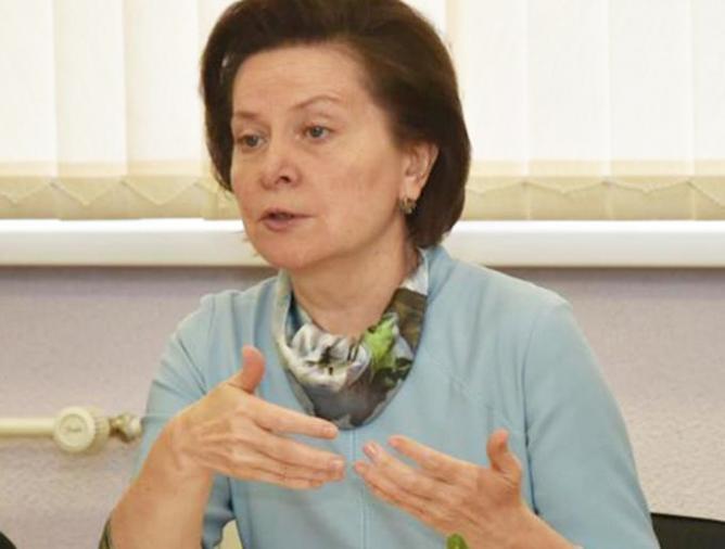 Н.Комарова в Мегионе
