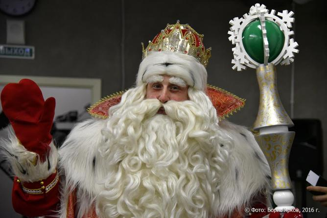 Дед Морощ в Екатеринбурге