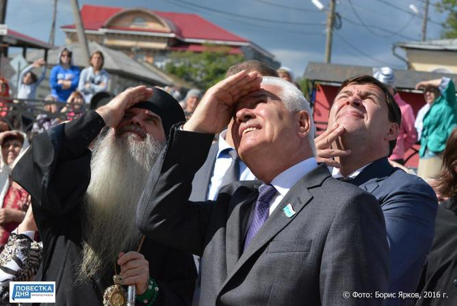 В Каменске-Уральском установили «царь-колокол»