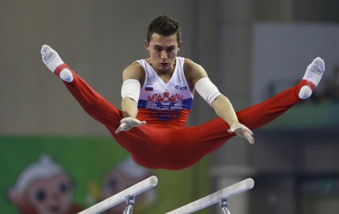 Российский гимнаст Давид Белявский
