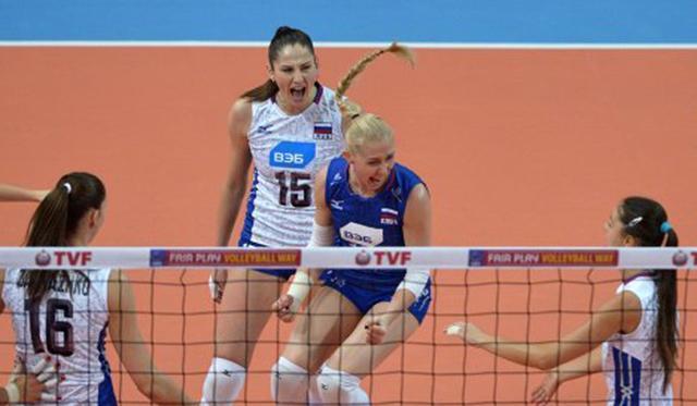 Российские волейболистки завоевали путевку на Олимпийские игры-2016