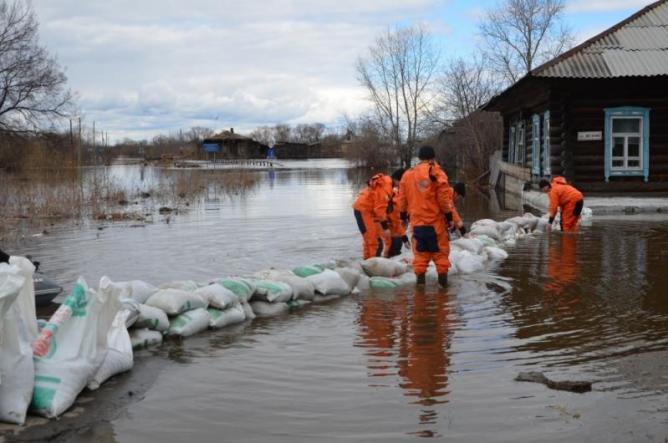 Паводок в Свердловской области 2017