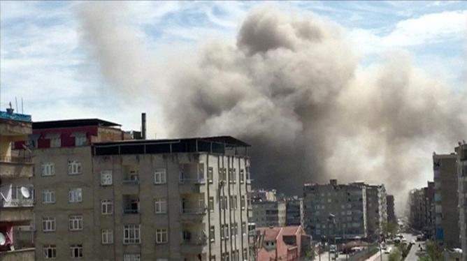 На юго-востоке Турции произошёл взрыв
