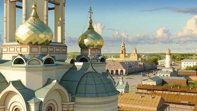 В Екатеринбурге состоялась презентация новой версии 3D город XVIII–XIX веков