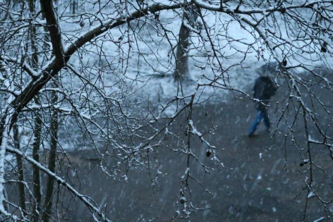 Весна не спешит в Екатеринбург