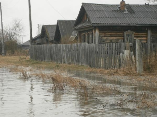 паводок в Верхотурье 20 апреля