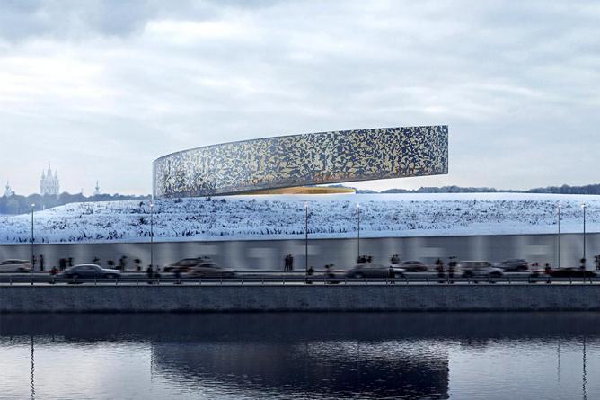 Проект Реквием, предложенный архитекторами финской компании Lahdelma & Mahlamäki. Фото:  Lahdelma & Mahlamäki