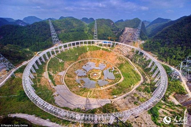 Самый крупный в мире радиотелескоп, который расположен в Китае, обнаружил два новых пульсара