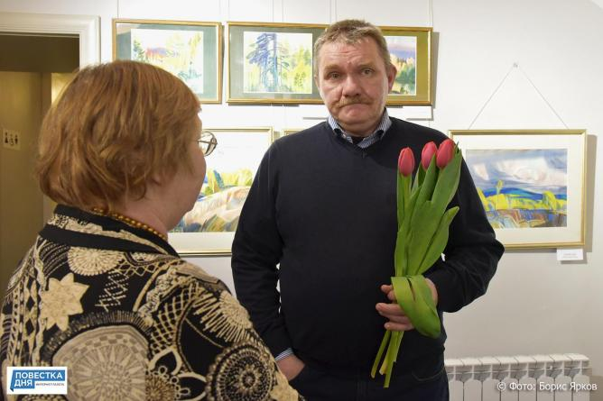 В Музее Неизвестного открыта выставка Абрамова «Синие горы»