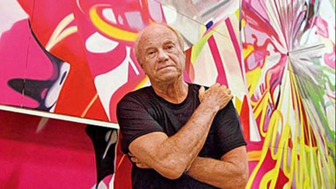 Один из самых ярких представителей поп-арта американский художник Джеймс Розенквист