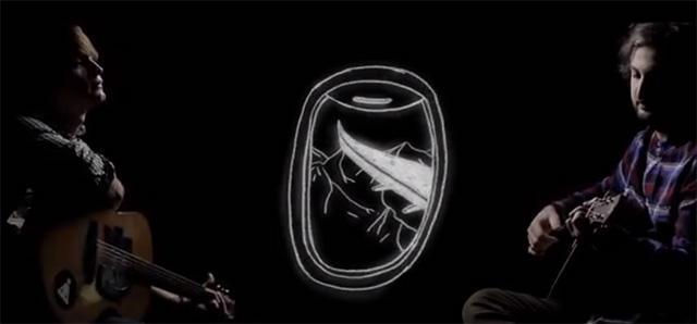 Лидер группы «Сансара» Гагарин презентовал клип песни «Флаги»