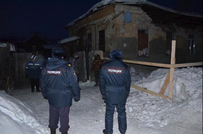 В Ирбите обрушился дом дореволюционной постройки