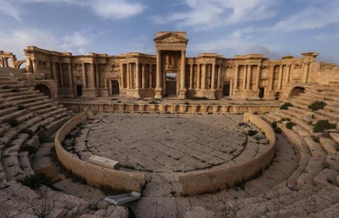 Боевики снова уничтожают историческое наследие древней Пальмиры