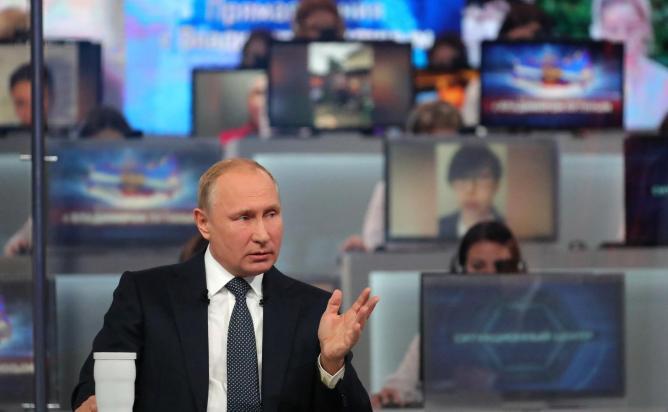 Путин рассказал, кто выберет его преемника