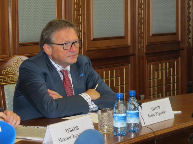 """Борис Титов, лидер """"Партии Роста"""""""