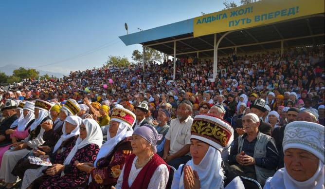 Выборы в Кыргызстане-2017. Фото: kaktus.media