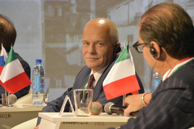 Андрей Беседин, президент Уральской Торгово-Промышленной Палаты