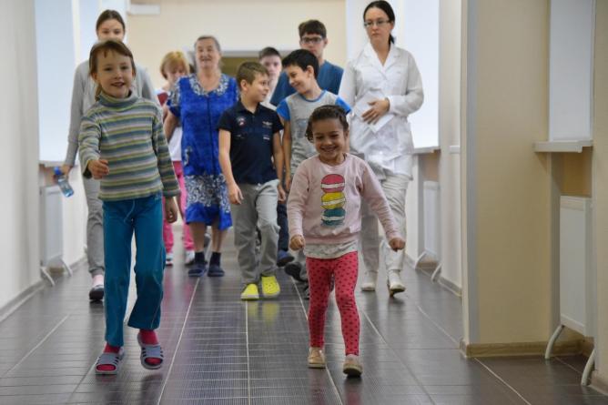 В Екатеринбурге после реконструкции 3 ноября открылось отделение восстановительного лечения в Детской городской клинической больнице № 9 (ДГКБ-9)