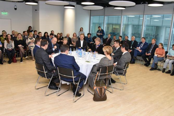 """Круглый стол """"Муниципально-частное партнерство в системе стратегического управления городским развитием"""""""