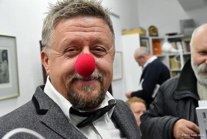 Игорь Ильичев, художник из Екатеринбурга, открытие выставки, Екатеринбургский музей карикатуры