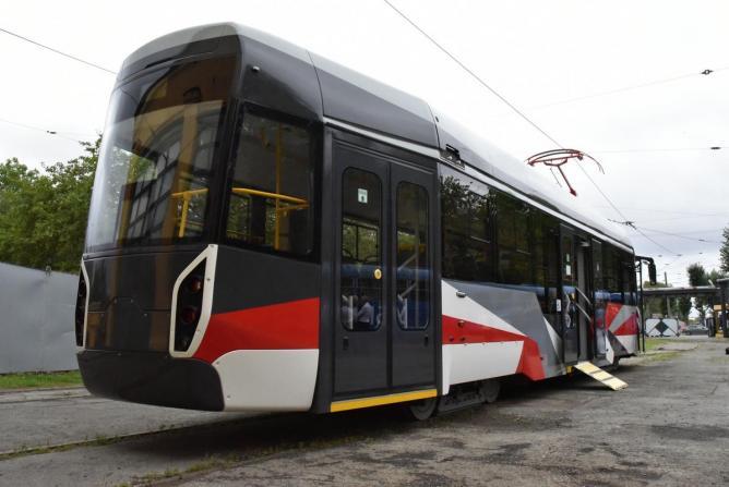 На улицы Екатеринбурга выйдет трамвай нового поколения (фото)