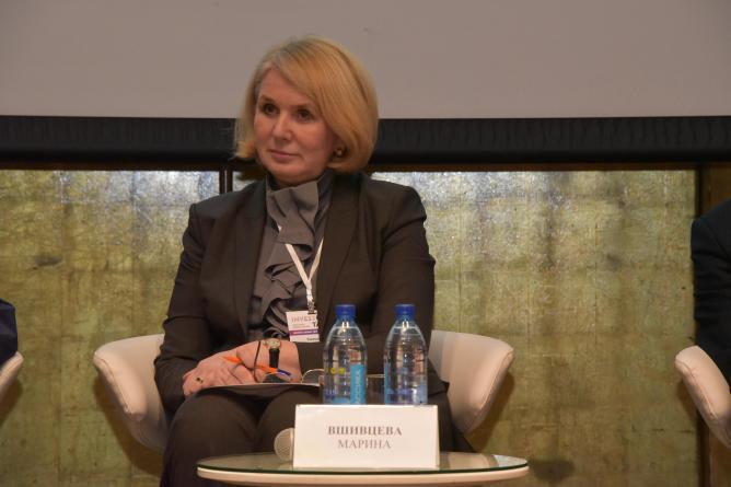 Марина Вшивцева, исполнительный вице-президент Свердловского областного союза промышленников и предпринимателей