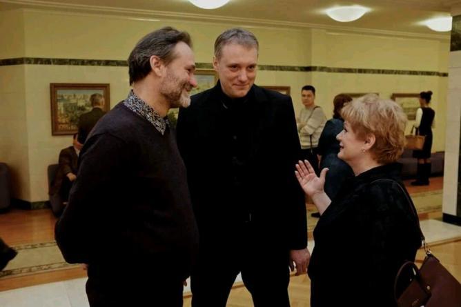 Алексей Ефремов, Александр Ремезов, Светлана Учайкина